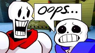 SANS & PAPYRUS SWAP BODIES! Funny Cinematic Undertale AU Animation Roleplay