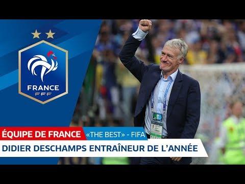 """Equipe de France, """"The Best"""" : Didier Deschamps sacré """"Entraîneur de l"""