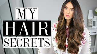 MY HAIR SECRETS!