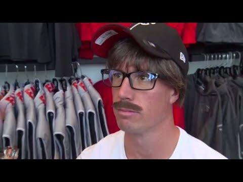 Matt Ryan (Uncle Rico?) goes undercover to surprise Atlanta Falcons fans   ESPN