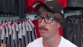 Matt Ryan (Uncle Rico?) goes undercover to surprise Atlanta Falcons fans | ESPN