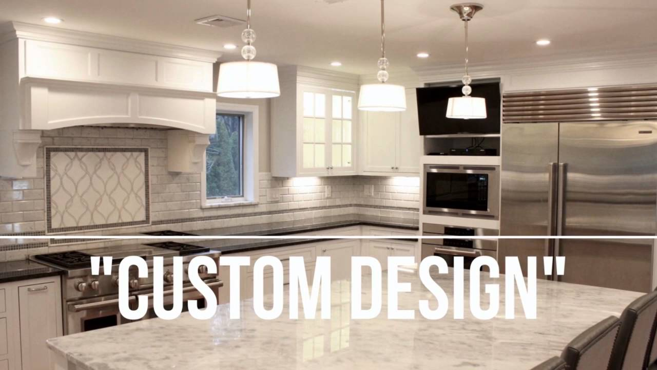 Lovely Customer Kitchen Remodel   Inset Kitchen Cabinets   Kabinet King   YouTube