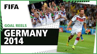 All of Germany's 2014 World Cup Goals | Gotze, Klose, Muller & more!