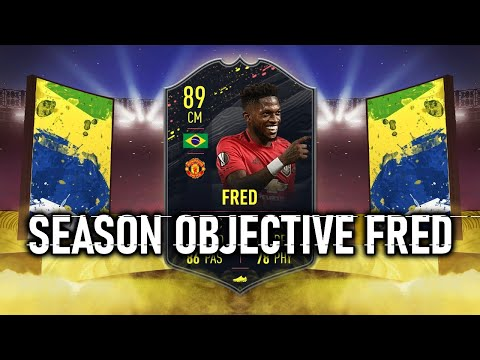 SEASON OBJECTIVE FRED PLAYER REVIEW | FIFA 20 FRED 89 REVIEW