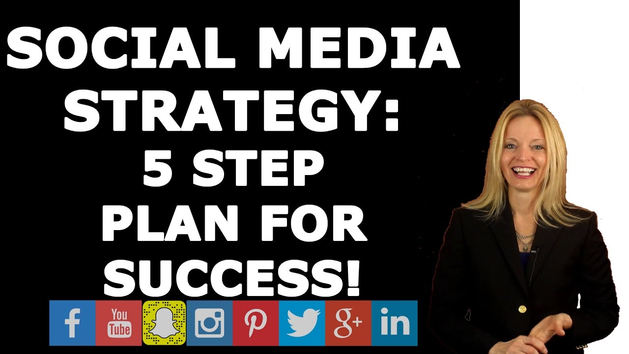Social media strategy five step plan for success youtube for 365 salon success