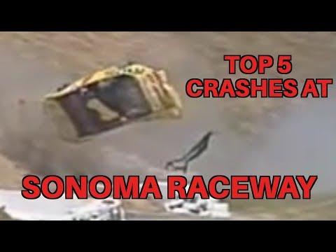Top 5 Worst Nascar Crashes At Sonoma