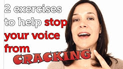 How To Stop Your Voice From Cracking