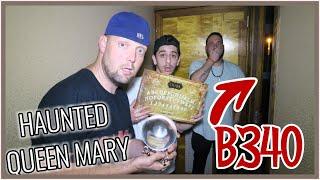 (I FILMED MYSELF SLEEPING) ROOM B340 QUEEN MARY