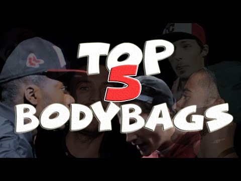 TOP 5 BODYBAGS IN RAPBATTLES