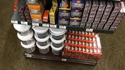 .22LR AMMO At Cabelas store