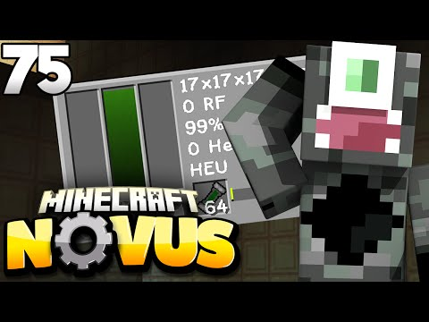 ENERGY PROBLEM GELÖST! - Minecraft NOVUS #75 | Zinus