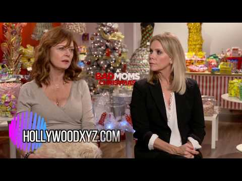 Susan Sarandon and Cheryl Hines A Bad Moms Christmas Interview