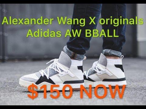 alexander wang x adidas originali - bball dettagli revisione su youtube