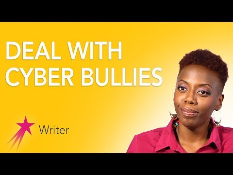 Writer: How to Deal with Cyber Bullies - Fungai Machirori Career Girls Role Model