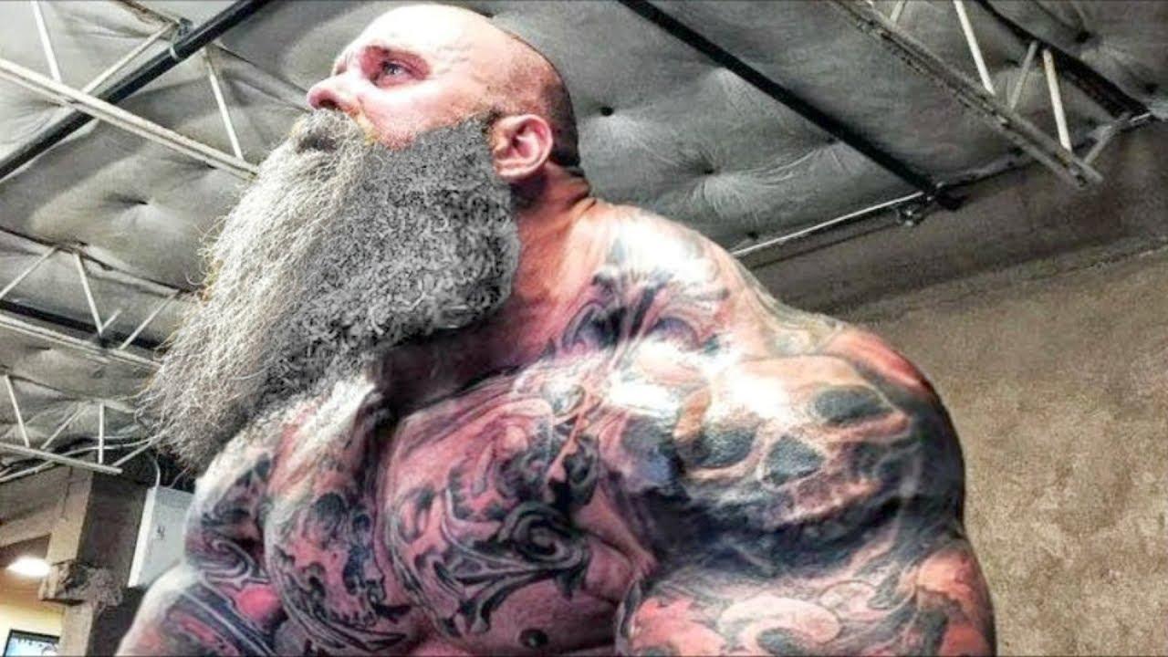 Монстр с седой бородой удивил всех!