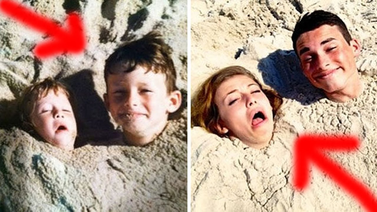 hilarious family photos recreations then and now funny family