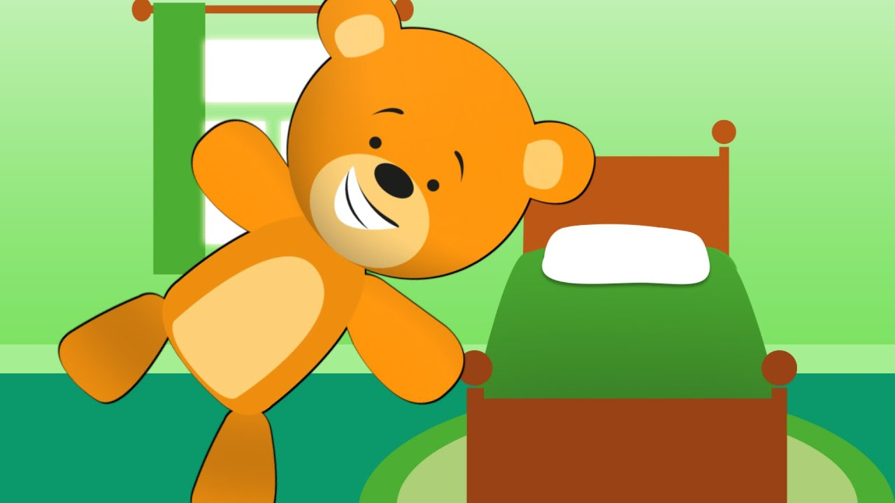 I Jump Out Of Bed In The Morning   Teddy Bear Song - YouTube