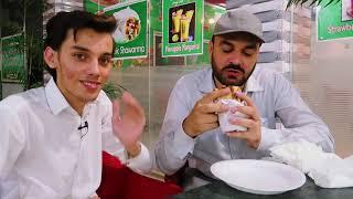 Peshawar food street Manto Afghan recipe   Afghani burger recipe   Street Food Peshawar