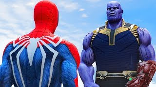 THANOS vs SPIDERMAN - Infinity Battle