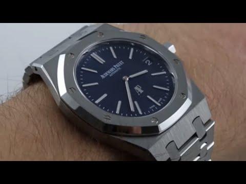 Audemars Piguet Royal Oak Ultra Thin 15202ST Luxury Watch Review