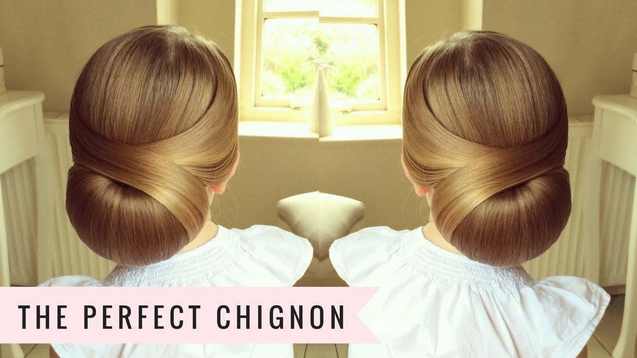 Low Chignon by SweetHearts Hair Design  YouTube  vohairblog