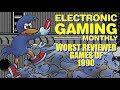 Electronic Gaming Monthly's Worst Reviewed Games of 1990