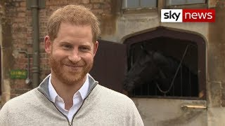 Prince Harry confirms birth of baby boy