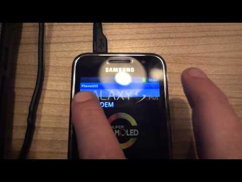 SRS: Remove Simlock Samsung GT-I9001 Galaxy S Plus