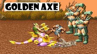 Golden Axe arcade: Gameplay en español - Todo el recorrido con 1 crédito - RetroBazinga