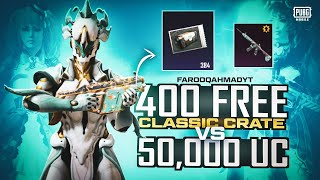 Classic Crates Opening | GLACIAL PUNISHER SET | Royal Pass Giveaway | 🔥 PUBG MOBILE🔥