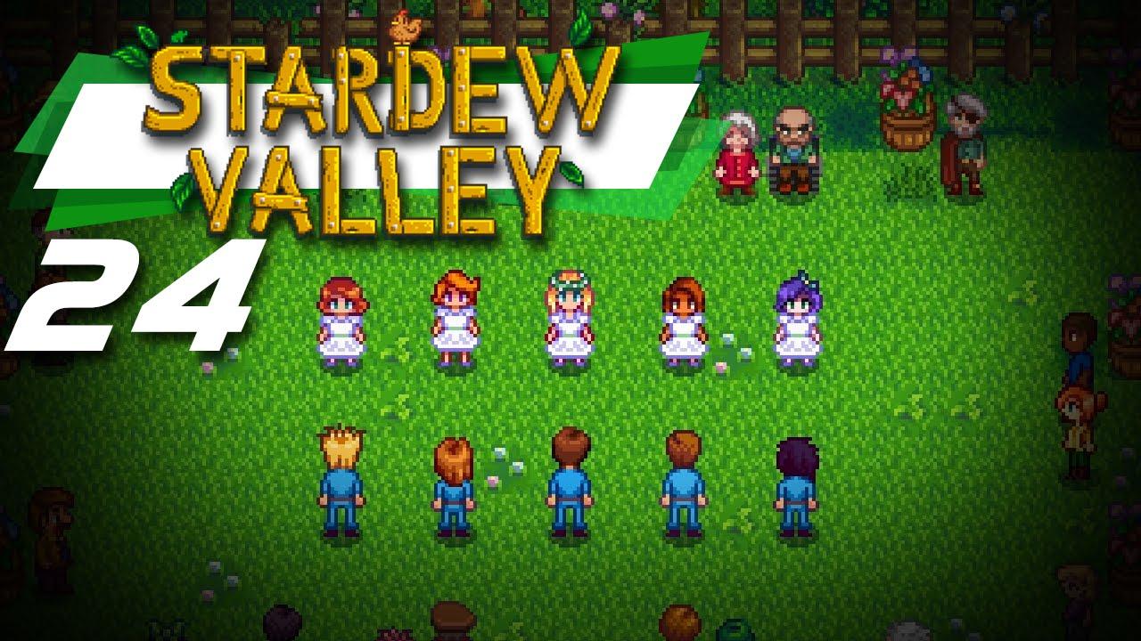 Wyntr Loves| Stardew Valley |24| The Flower Dance - YouTube