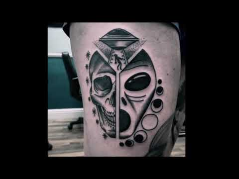 Amazing Alien Tattoo Ideas