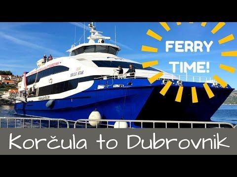 FERRY BOAT TRIP CROATIA | KORČULA TO DUBROVNIK
