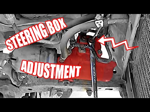 Steering Box: Steering Box Adjustment on a Toyota 4Runner