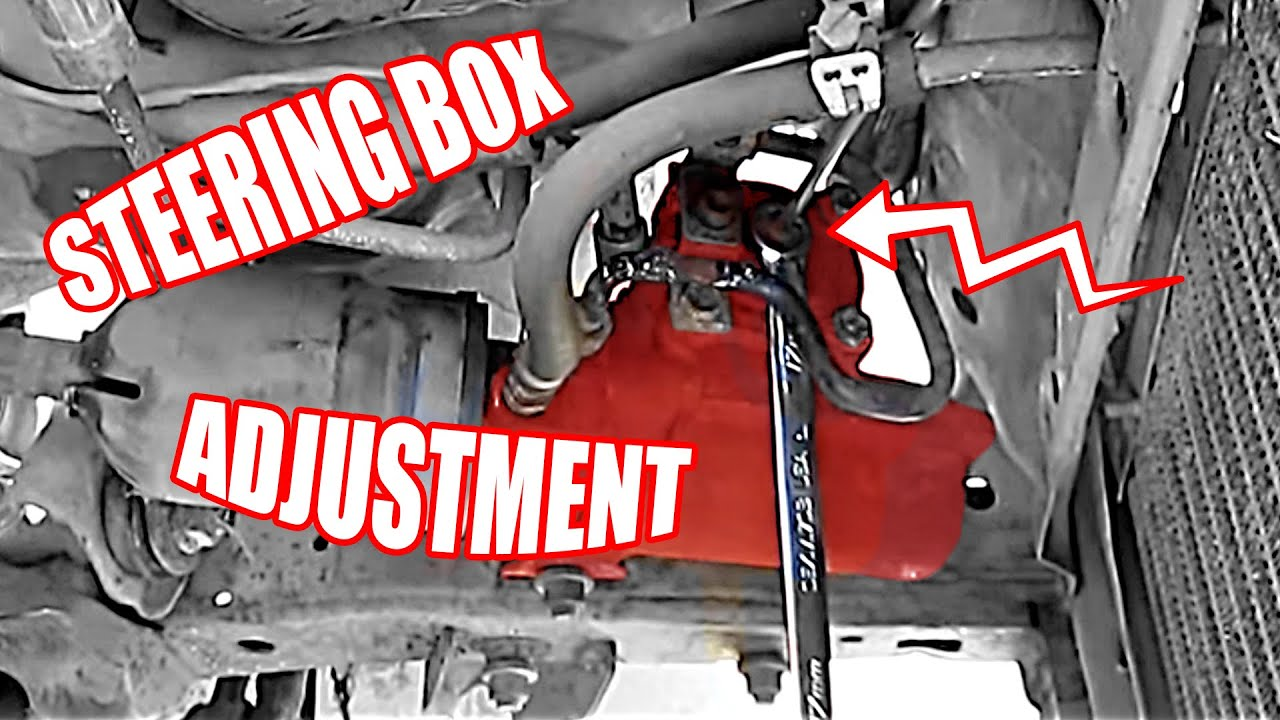 Steering Box Adjustment On A Toyota 4runner Youtube Wiring Diagram For 1998 Ford E350 Transit Bus
