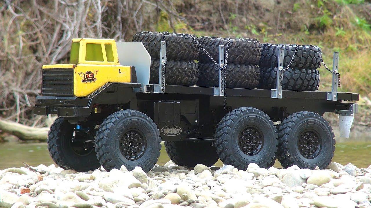 Rc Adventures Custom 6x6 Heavy Hauler 1 10 Blackwell 2