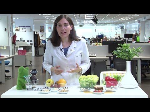¿En qué alimentos hay más fibra?