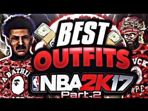 BEST OUTFIT PART 2 - NBA 2K17