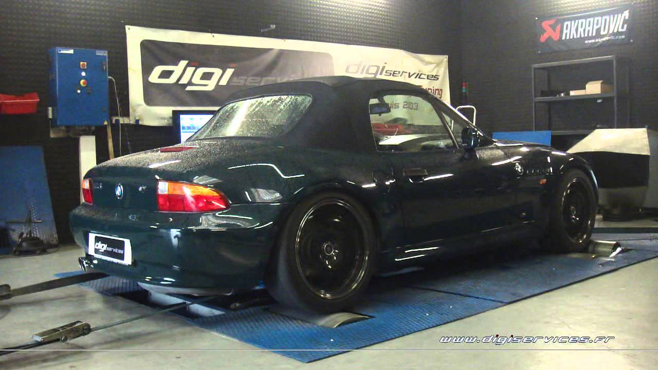 Reprogrammation Moteur Bmw Z3 192cv 224cv Digiservices Paris 77183 Dyno Youtube