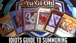 yu gi oh the idiots guide to summoning normal ritual fusion synchro xyz pendulum