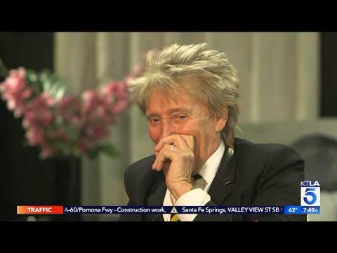 "Rod Stewart Blushes about his Favorite ""Type"""