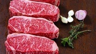 Wagyu Beef NY Strip Loin - how to trim