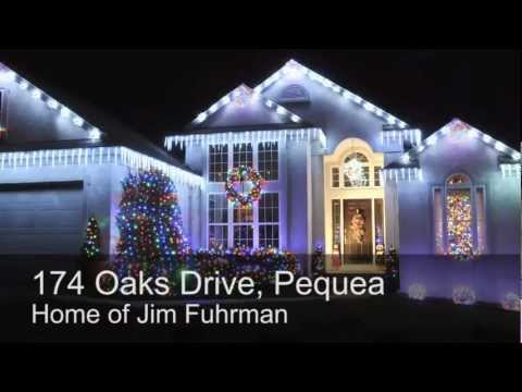 Best Christmas Lights In Lancaster County, PA [2012]