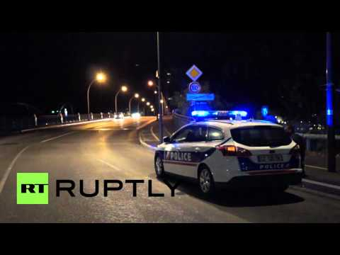 France: Armed police patrol German border after Paris terror attacks