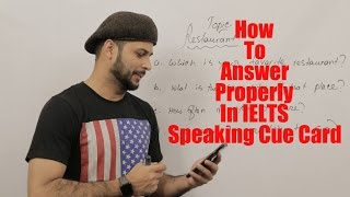 How to speak properly in IELTS Exam...