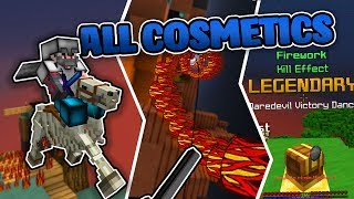 Showcasing ALL of the NEW SkyWars Cosmetics!