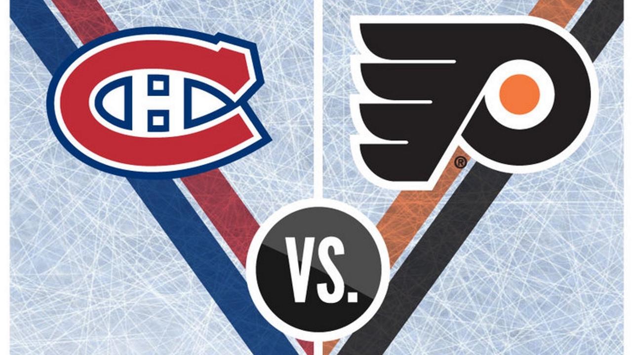 """Résultat de recherche d'images pour """"Canadiens vs  Flyers"""""""