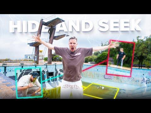 HIDE and SEEK im verlassenen MADEIRA Geister Schwimmbad - Lost Place!