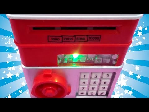 ATM TOY MACHINE AND COIN BANK Nursery Rhyme Songs Compilation