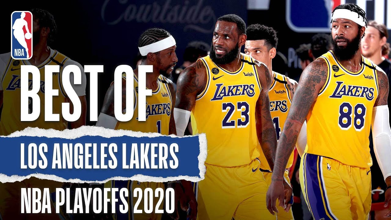 Download The Lakers' Best Plays From The 2020 #NBAPlayoffs 🏆